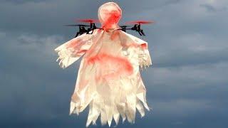 AHHH! Scary Halloween Drone - Skull Drone 1031 - TheRcSaylors