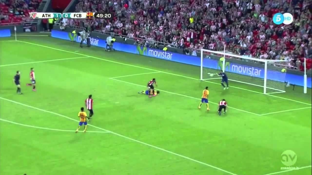 Athletic Bilbao VS Barcelona 4-0 Highlights Spanish Super ...