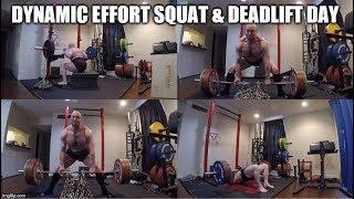 11-8-2019 Orc Mode Training - Dynamic Effort Squat & Deadlift Day