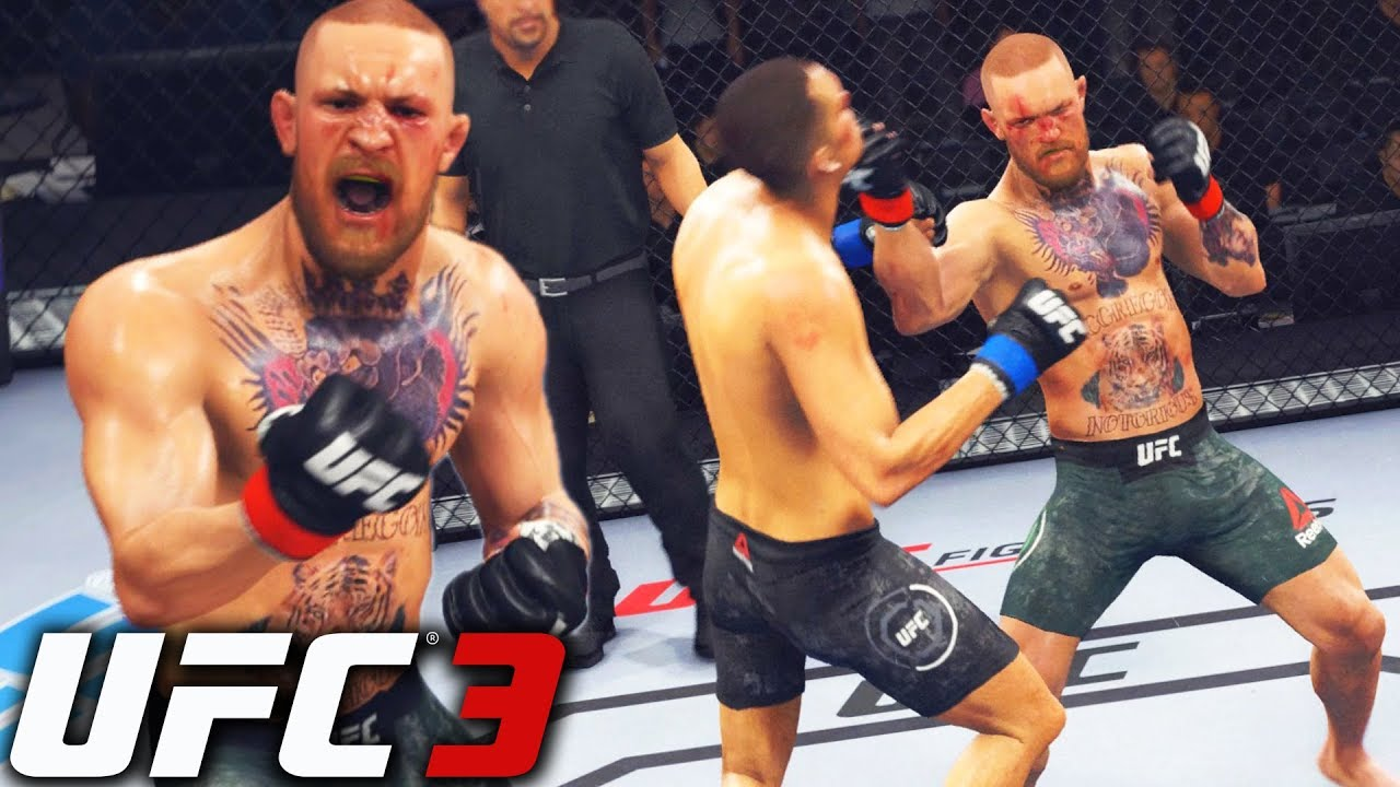 Conor McGregor Is A Cheat Code! Dropping Everyone! EA Sports UFC 3 Online  Gameplay