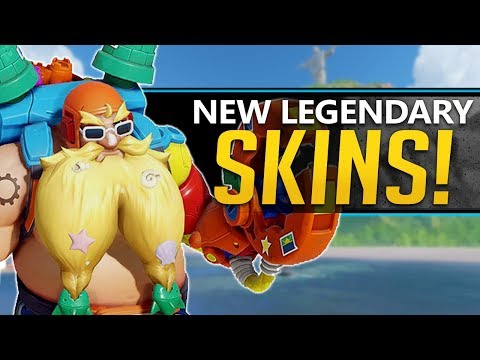 Overwatch All NEW Skins Summer Games 2019 - Emotes, Voicelines, And More!