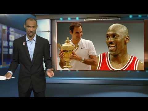 Roger Federer vs Michael Jordan