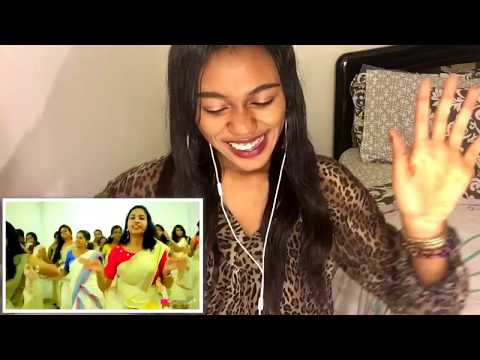 Jimikki Kammal Dance Perfomance by Indian School of Commerce {REACTION}