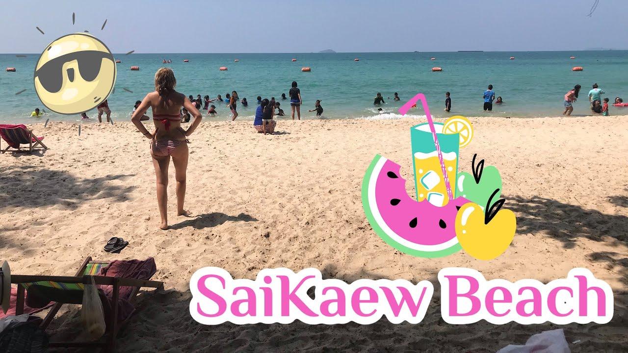 Военный пляж в Pattay. Saikaew Beach