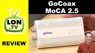 Buy it on Amazon - http://lon.tv/h3ij (affiliate link) - The most affordable MoCA adapters also happen to be the fastest! We take a look at the new GoCoax MoCA ...