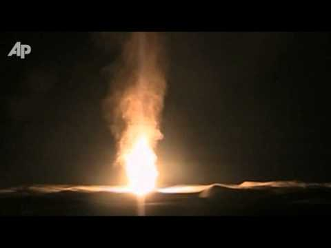 Raw Video: Egypt Gas Pipeline Explosion