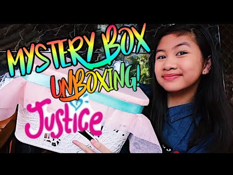 UNBOXING A MYSTERY BOX FROM JUSTICE! | Danisha Keyla