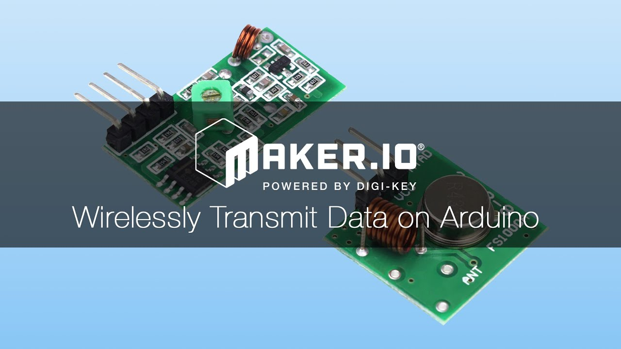 How To Wirelessly Transmit Data on Arduino