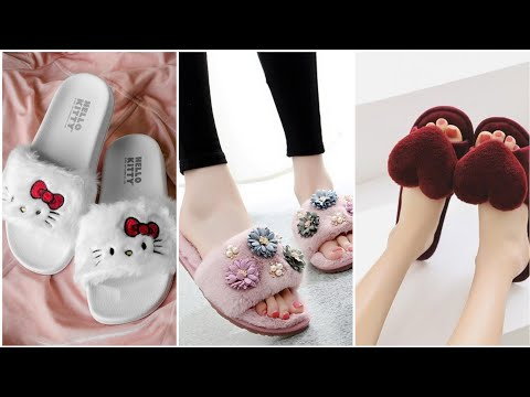 Comfortable and stylish slippers design for collage girls: The Fashion World