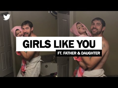 Maroon 5 - Girls Like You   Father and Daughter Viral Video! (Full Video)