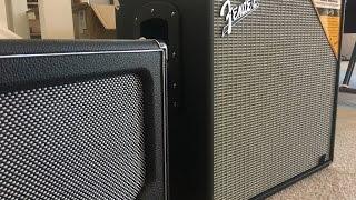 1x12 Bass Cabinet Comparison: Aguilar SL 112 vs. Fender Rumble 112