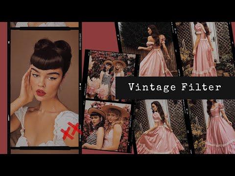 Vintage Filter (VSCO FREE)