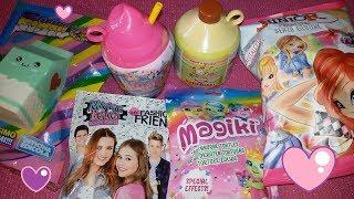 Apriamo insieme: SMOOSHY MUSHY, Maggie & Bianca, MAGIKI Tartarughe, patatine WINX e SKIFIDOL!!!