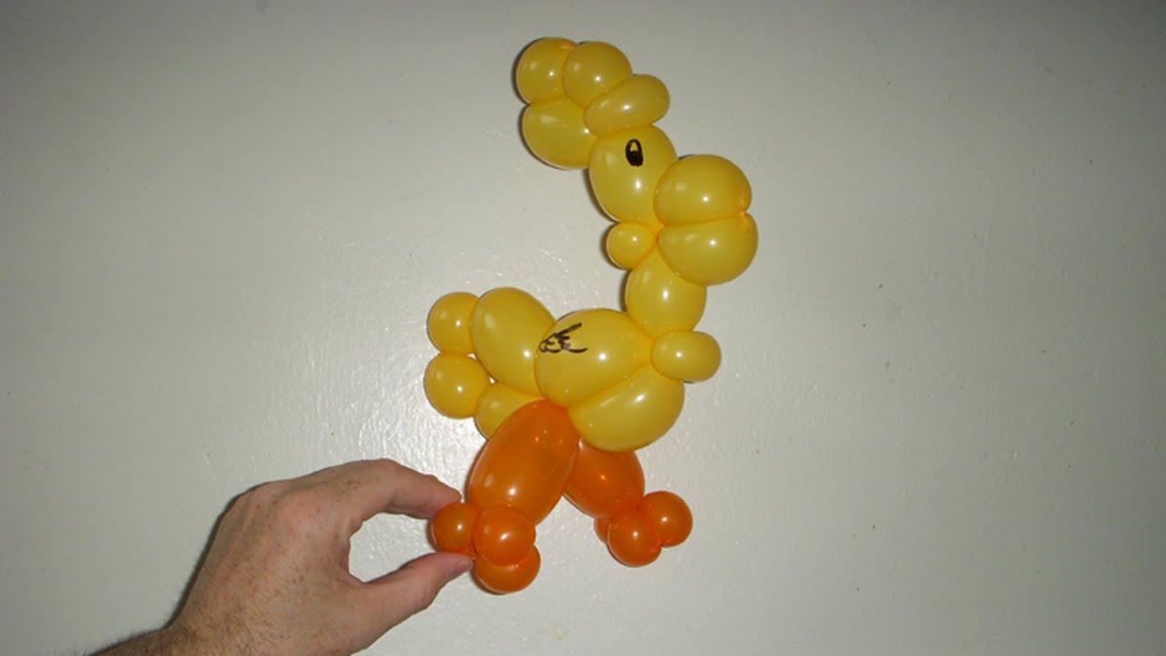 Как сделать петуха из воздушных шаров видео фото 490