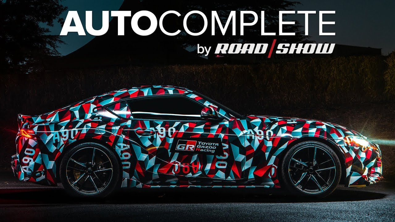 AutoComplete: A four-cylinder MKV Supra could be headed to market