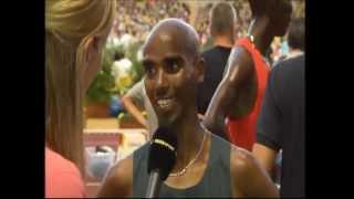 1500m.Kiprop3.27.72,Farah3.28.81-Monaco,2013(+Farah interview)