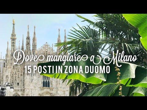DOVE MANGIARE A MILANO LOW COST - 15 Posti In Zona Piazza Duomo