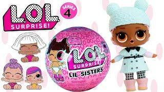 LOL Surprise LIL Sisters • Opiekunki dla Bobasów • LOL Surprise Eye Spy seria 4