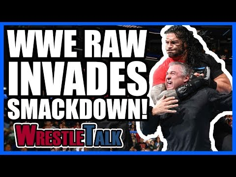 EMOTIONAL WWE Title Change! Raw INVADES Smackdown!   WWE Smackdown LIVE, Nov. 14, 2017 Review