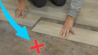 How To Install Luאury Vinyl Plank Over Tile Flooring