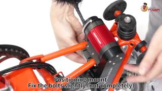 HiddenPower Electric (E-Bike) Kit for Brompton