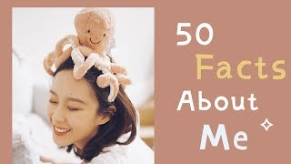 50 Facts About Me   关于我的50件事    学习   生活   博主工作  IrisDaily