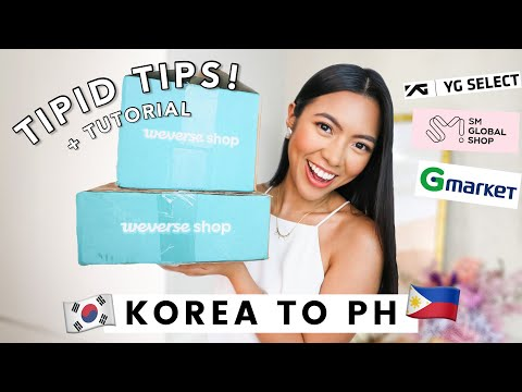 How to Order from WEVERSE SHOP & Ship to the PHILIPPINES | CHEAP & EASY Korea Shopping + Shipping