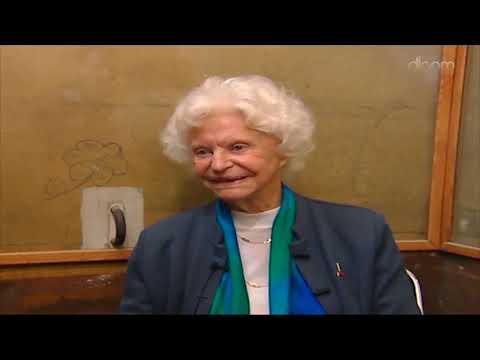 Témoignage de Marie-Jose Chombart de Lauwe, résistante, déportée