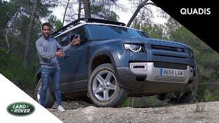 Land Rover Defender 2020   Prueba / Test / video en español   quadis.es