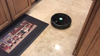 I love the IRobot Rumba 671. Demo and sound check.