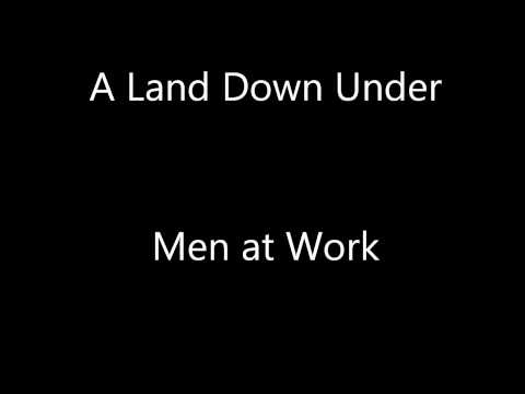 Men At Work A Land Down Under