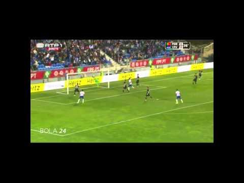 Gol de cabo verde ante Portugal