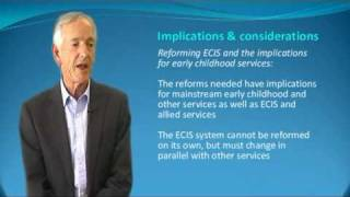 Dr Tim Moore: ECI Reform Literature Review: Reconfiguring ECEC & ECIS Thumbnail