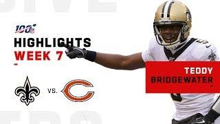 Teddy Bridgewater Stays Solid w/ 281 Yds &  2 TDs | NFL 2019 Highlights
