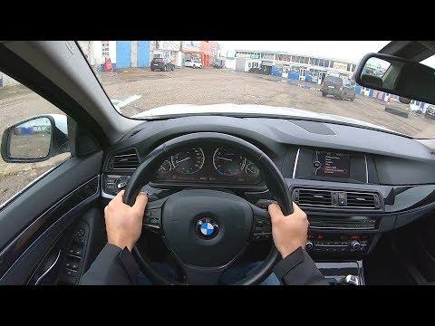 2014 BMW 528i XDrive 2.0 (245) POV TEST DRIVE + Начало Розыгрыша.