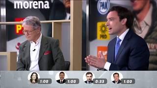 Fernando Rodríguez Doval en la mesa de debate de Convénceme