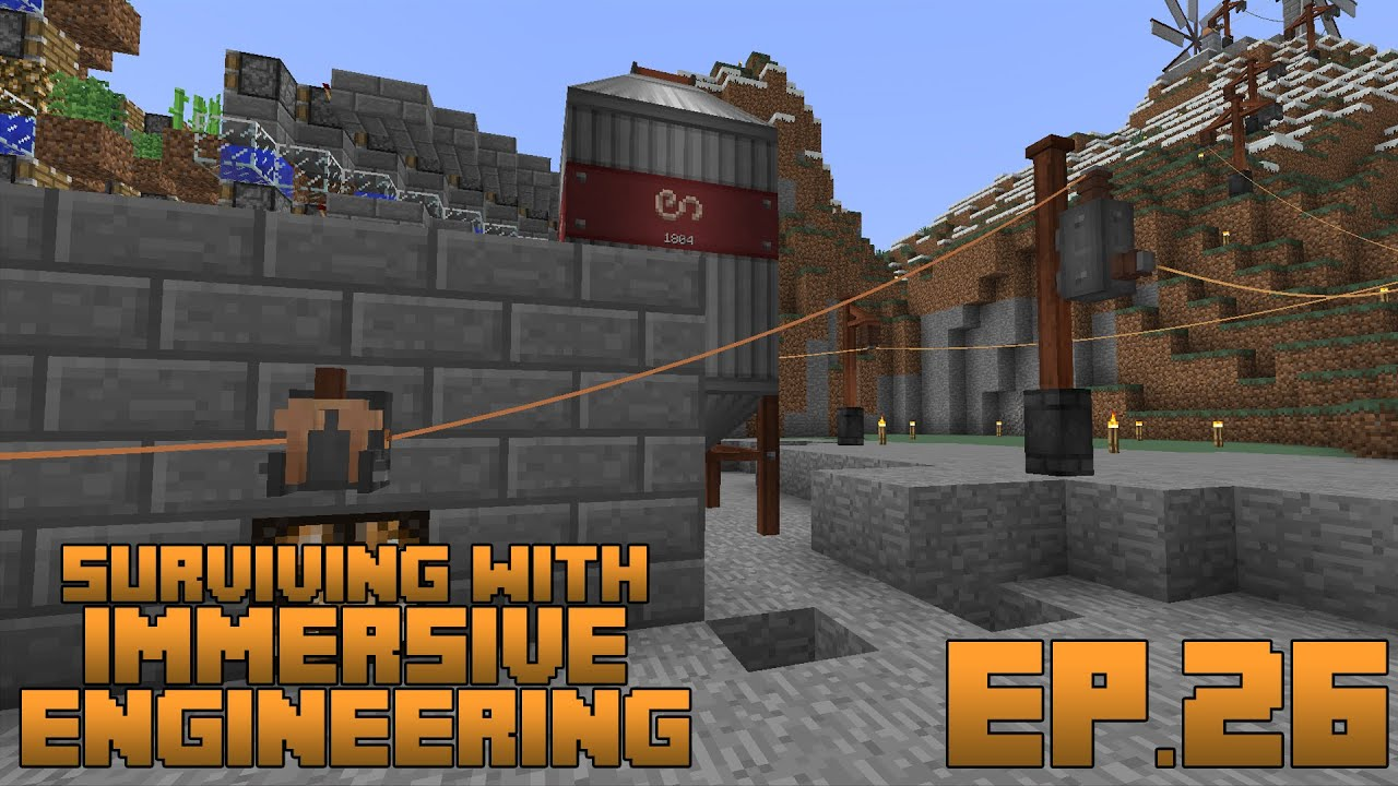 Surviving With Immersive Engineering    Ep 26