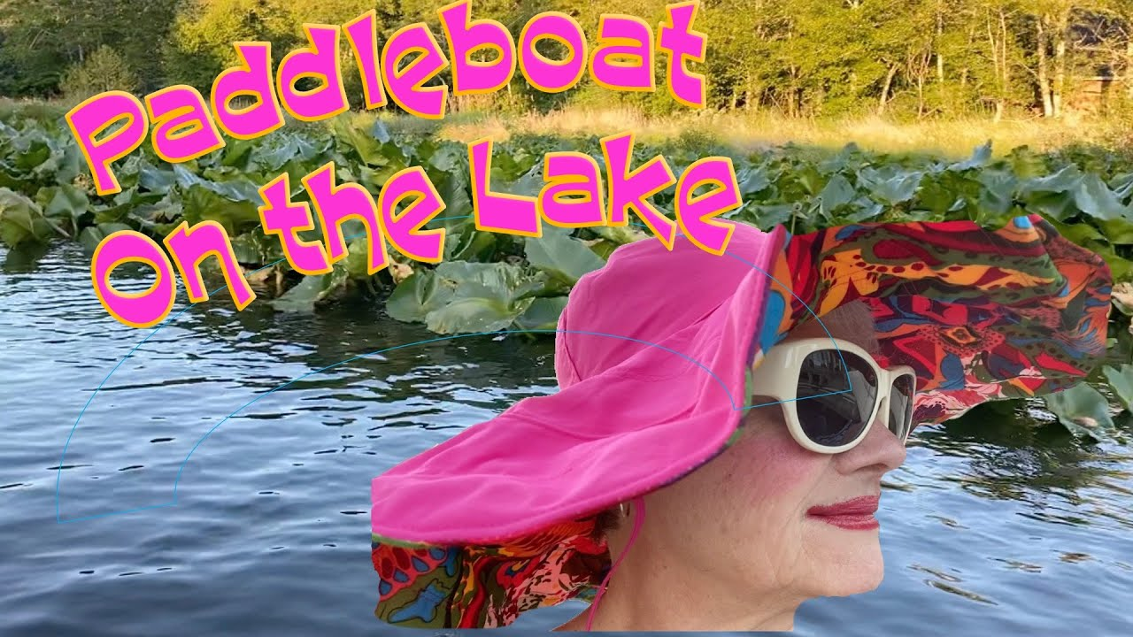 Paddle Boat on the Lake