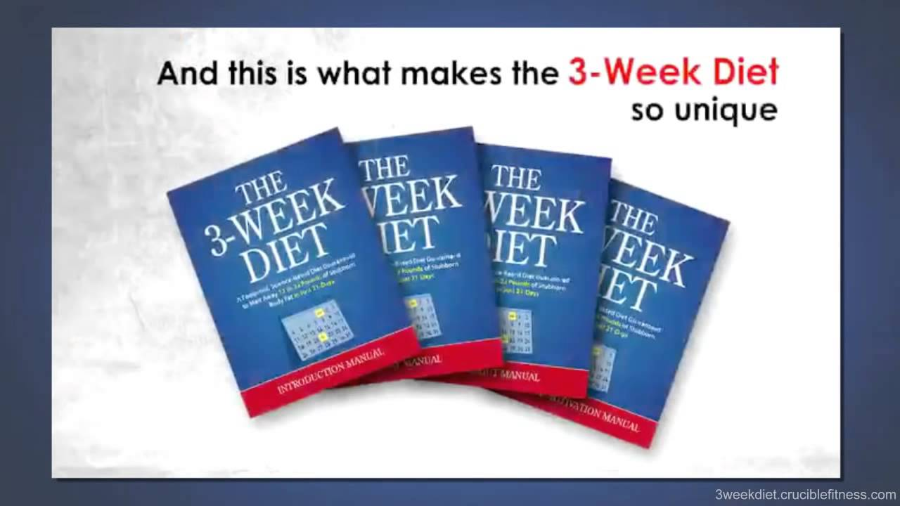 3 Week Diet Plan – Complete Weight Loss System