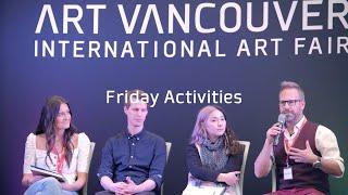Art Vancouver 2019 - Friday Activities
