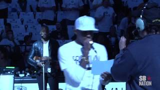Fabolous Introduces Brooklyn Nets Starting Lineup