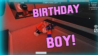 BIRTHDAY BOY! [Flee The Facility ROBLOX]