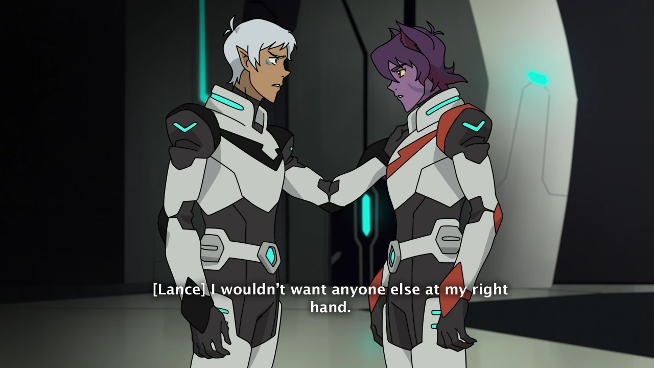 Black Paladin Altean Lance And Red Paladin Galra Keith