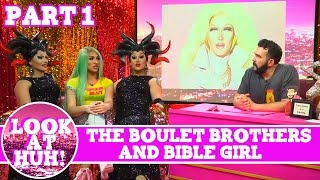 Boulet Brothers & BibleGirl: Look at Huh Pt 1 on Hey Qween! with Jonny McGovern