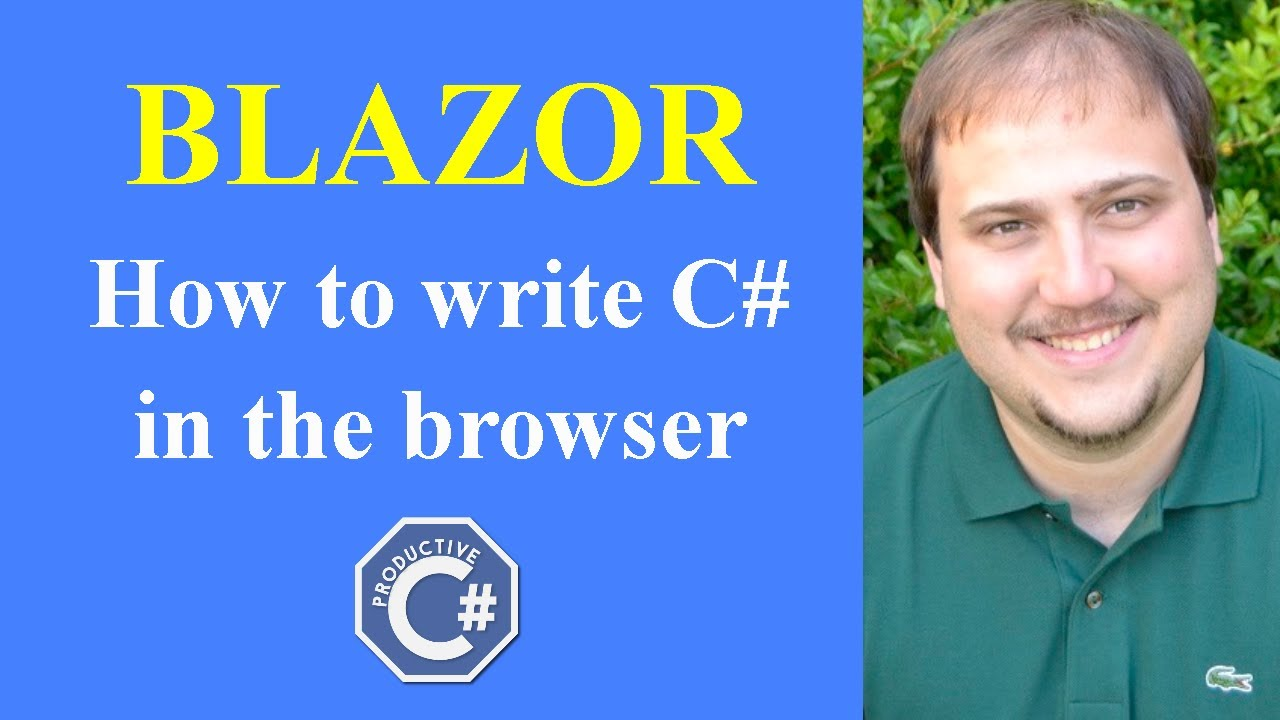 Blazor it's here: how to write C# in the browser