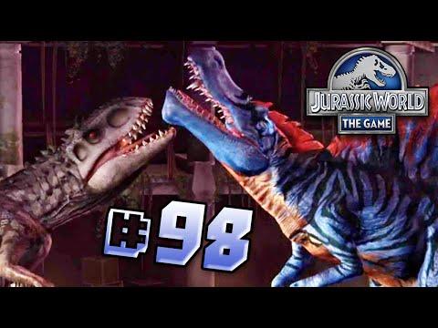 Indominus Vs Spinosaurus!    Jurassic World - The Game - Ep 98 HD