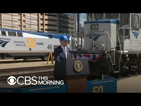 Biden lobbies for support from Republicans, Americans for his $2.3 trillion infrastructure plan