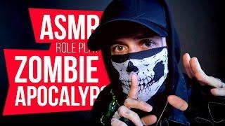 ASMR Zombie Apocalypse Role play 💀 Russi...