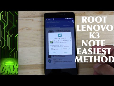How To Root Lenovo K3 Note and Install TWRP Recovery [EASIEST Method]