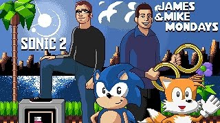 Sonic the Hedgehog 2 (Sega Genesis) Part 1 - James & Mike Mondays